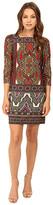 Christin Michaels Katy Paisley Printed Dress