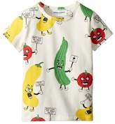 Mini Rodini Veggie All Over Print Short Sleeve T-Shirt Kid's T Shirt