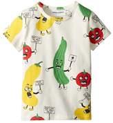 Mini Rodini Veggie All Over Print Short Sleeve T-Shirt