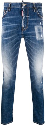 DSQUARED2 Straight-Leg Boot Cut Jeans