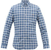 Polo Ralph Lauren Slim-fit Checked Cotton Shirt - Mens - Blue Multi