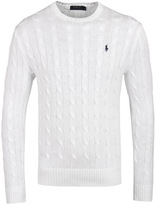 Polo Ralph Lauren Collection Cream Cable Knit Sweater