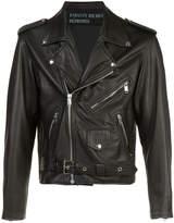 Enfants Riches Deprimes chest back print jacket