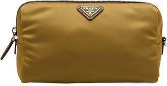 Prada Logo Cosmetic Bag