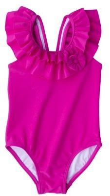 Circo Infant Toddler Girls' 1-Piece Swimsuit