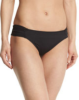 Trina Turk Algiers Shirred-Side Hipster Swim Bottom