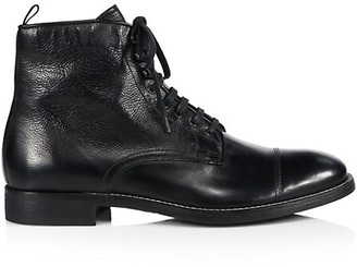 To Boot Richmond Cap Toe Leather Boots