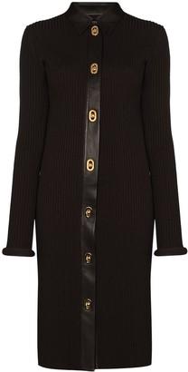 Bottega Veneta Ribbed-Knit Midi Dress