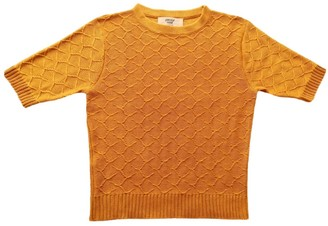 Graciela Huam Emilia Crop Top - Mustard