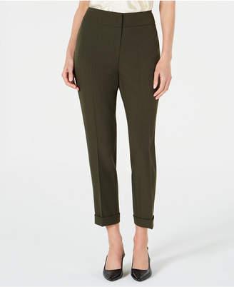 Kasper Petite Ankle Cuff Pants