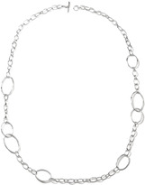 "Ippolita Scultura Silver Big Link Chain Necklace, 45""L"