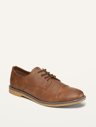 Old Navy Faux-Leather Derby Buck Shoes for Men