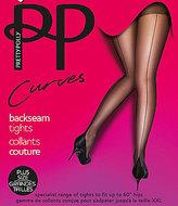Pretty Polly Curves Backseam Tights