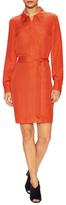 Diane von Furstenberg Seanna Silk Jacquard Shirtdress