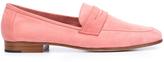 Mansur Gavriel Classic Suede Loafer - Pink