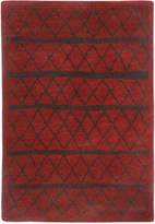 """Capel Tangier 4740-550 Red 7'10"""" x 11' Area Rug"""