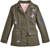 Epic Threads Butterfly-Patches Military Jacket, Toddler & Little Girls (2T-6X), Only at Macy's