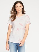 Old Navy EveryWear Curved-Hem Tee for Women