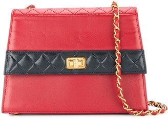 Chanel Pre-Owned 1989-1991 quilted structured shoulder bag