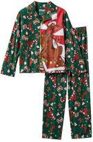 Boys 4-10 Scooby-Doo! Coat Pajama Set