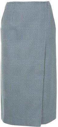 Calvin Klein Plaid Skirt