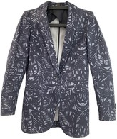 Tonello Blue Linen Jacket for Women
