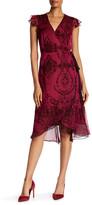 Nanette Lepore Wild Flower Wrap Dress
