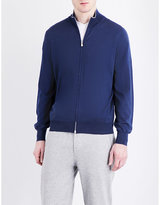Brunello Cucinelli Zipped Wool And Cashmere-blend Cardigan