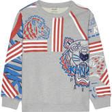 Kenzo Animal print cotton sweatshirt 4-16 years