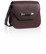 Mackage Novaki-F5 Bordeaux Leather Mini Crossbody Bag