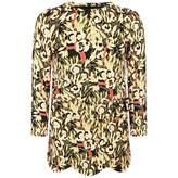 John Galliano John GallianoGirls Black & Gold Floral Print Dress