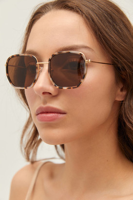 Urban Outfitters Tallulah Small Hexagon Sunglasses