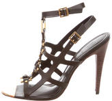 Tory Burch Leather Caged Sandals