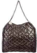 Stella McCartney Quilted Shaggy Deer Falabella Tote