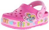 Crocs Kids' Butterfly Light-Up Clog