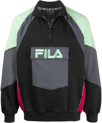 Fila Gia colour-block hoodie