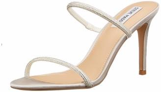 Steve Madden Women's LYRA Rhinestone Heeled Sandal 5 UK
