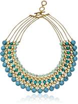"""Carolee The Line"""" The Line Dramatic Multi-Row Necklace, 16""""+ 3"""" Extender"""