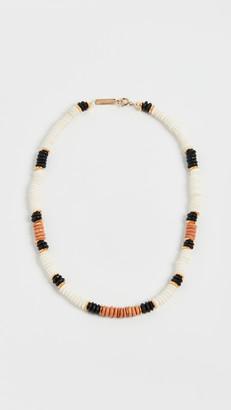 Isabel Marant Bone Bead Necklace