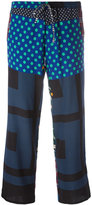 Pierre Louis Mascia Pierre-Louis Mascia printed trousers
