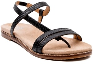 JANE AND THE SHOE Holly Demi-Wedge Sandals Women's Shoes