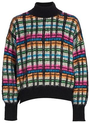 Essentiel Antwerp Wast Tartan Sweater