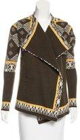 Etro Wool Patterned Cardigan