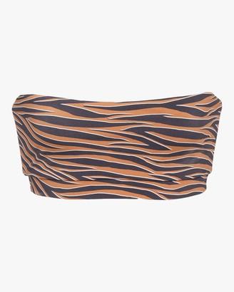 Anemos Tiger Bandeau Bikini Top