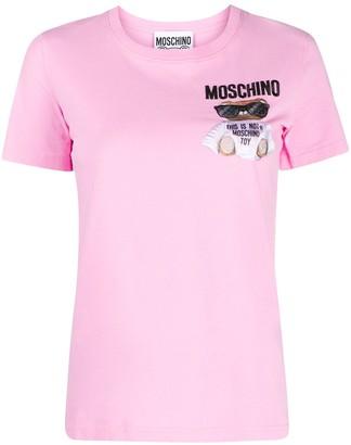 Moschino Teddy Bear cotton T-shirt