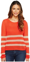 Splendid Stripe Pullover Women's Clothing