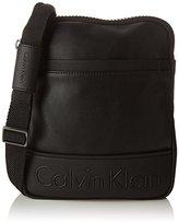 Calvin Klein Bennet Flat Crossover, Men's Cross-Body Bag, Negro (), 3x25x20 cm (W x H x L)