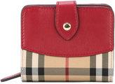 Burberry House check compact purse