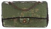 Chanel Classic Medium Sequin Double Flap Bag