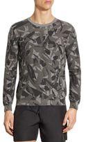 Z Zegna Camouflage-Print Sweatshirt